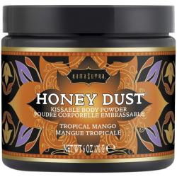 Превратите тело в десерт - Пудра для тела со вкусом и ароматом манго Honey Dust Body Powder 170g