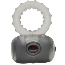 Крепче и слаще - Эрекционное кольцо с вибрацией - Hera, цвет: серый