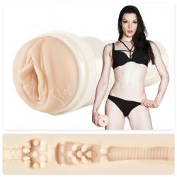 Искусственная вагина для реального экстаза - Мастурбатор порно-звезды-Stoya Destroya, цвет: телесный