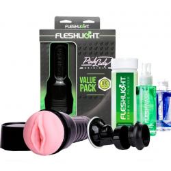 Набор для максимального наслаждения - Набор для мастурбации Original Value Pack, цвет: нежно-розовый