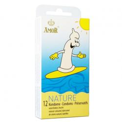Классические презервативы AMOR Nature, 12 шт.