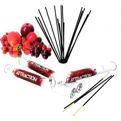 Идеальный фон для интимного свидания - Ароматические палочки с феромонами - MAI Red Fruits (20 шт)