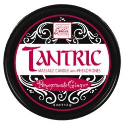Тантрический массаж - Массажная свеча Pomegranate Tantric Candle w. Pheromones