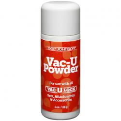 Для лучшего контакта - Присыпка для системы - Doc Johnson Vac-U Powder, 28g
