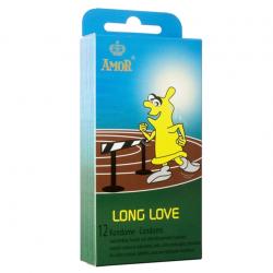 Презервативы с продлевающим эффектом AMOR Long Love, 12 шт.