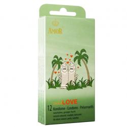 Презервативы с пупырышками AMOR wild Love, 12 шт.