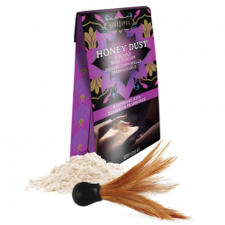 Припороши желание - Сьедобная пудра для тела - Honey Dust Body Powder, 28g(малина)