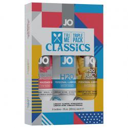 Три смазки и бесконечное наслаждение - Подарочный набор - System JO Limited Edition Tri-Me