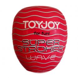 Игрушка для оргазмов - Яйцо-мастурбатор - Super Stroker Wave