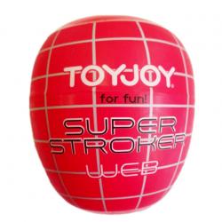 Ни дня без оргазмов - Яйцо-мастурбатор - Super Stroker Web, цвет: прозрачный