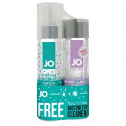 Нежно, скользко и чисто - Подарочный набор - System JO Agape&MistingToy Cleaner