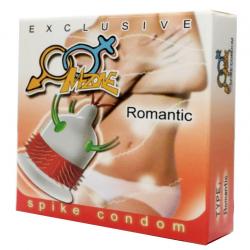 Презерватив с шипами и усиками - Spike Condom Romantic
