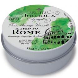 Массажная свечa Petits Joujoux - Rome - Grapefruit and Bergamott (43 мл)