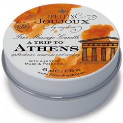 Массажная свечa Petits Joujoux - Athens - Musk and Patchouli (43 мл)