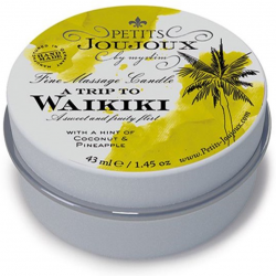 Массажная свечa Petits Joujoux - Waikiki Beach - Coconut and Pineapple (43 мл)