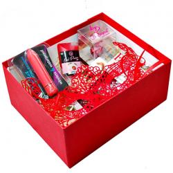 Подарочный набор Lovebox DirtyEmu, красный S