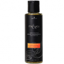 Массажное масло Sensuva - Me & You Lemon, Ginger, Orange, Vanilla & Sugar (125 мл)