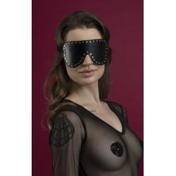 Маска закрытая с заклепками Feral Fillings - Blindfold Mask