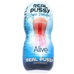 Мастурбатор-вагина Alive Super Realistic Vagina, цвет: телесный