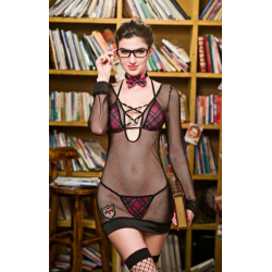 Эротический ролевой костюм студентки Старательная Луиза S/M