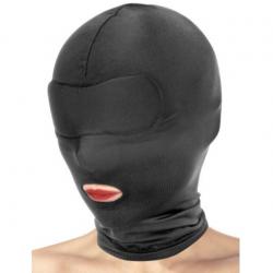 Капюшон для БДСМ с открытым ртом Fetish Tentation Open Mouth Hood