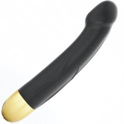 Вибратор Dorcel Real Vibration M Gold 2.0, цвет: черный