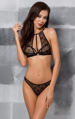 Сексуальный комплект белья JADE SET, цвет: черный