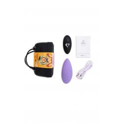 Вибратор в трусики FeelzToys Panty Vibrator Purple, цвет: лиловый