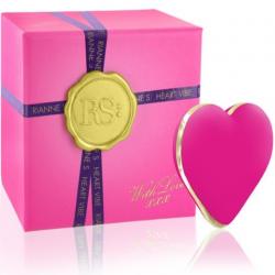 Вибратор-сердечко Rianne S: Heart Vibe Rose, цвет: розовый