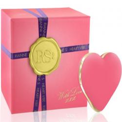 Вибратор-сердечко Rianne S: Heart Vibe Coral, цвет: нежно-розовый