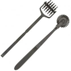 Колесо Вартенберга Doc Johnson Kink- Spike - Solid Metal Pinwheel - 5 Wheels