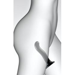 Насадка для страпона Strap-On-Me P&G-Spot Dildo S, цвет черный
