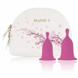Менструальные чаши RIANNE S Femcare - Cherry Cup, цвет: розовый