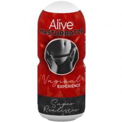 Мастурбатор-вагина Alive Vaginal Experience, цвет: телесный