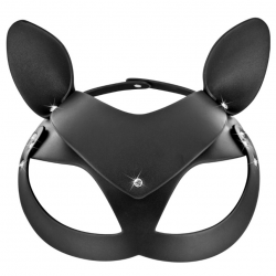 Маска кошки Fetish Tentation Adjustable Catwoman Diamond Mask, цвет: черный