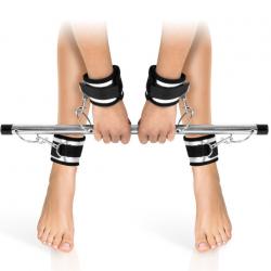 Фиксатор для рук и ног Fetish Tentation Submission bar with 4 cuffs