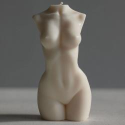 """Свеча """"Венера"""" в виде женского торса Чистый Кайф"""