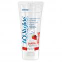 Лубрикант - AQUAglide Strawberry (полуниця), 100 мл