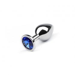 Анальная пробка Silver Sapphire