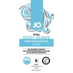 нет инфо!Пробник геля для бритья JO Total Body Anti-Bump Shaving Gel 15 мл